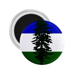 Flag of Cascadia 2.25  Magnets Front