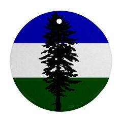 Flag Of Cascadia Ornament (round)
