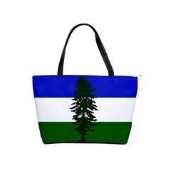 Flag Of Cascadia Shoulder Handbags