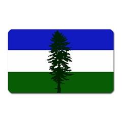 Flag Of Cascadia Magnet (rectangular)