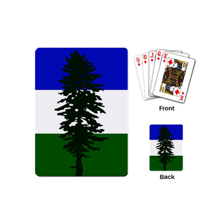 Flag of Cascadia Playing Cards (Mini)