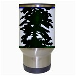 Flag of Cascadia Travel Mugs (White) Center