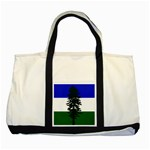 Flag of Cascadia Two Tone Tote Bag Front
