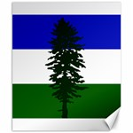 Flag of Cascadia Canvas 8  x 10  10.02 x8 Canvas - 1