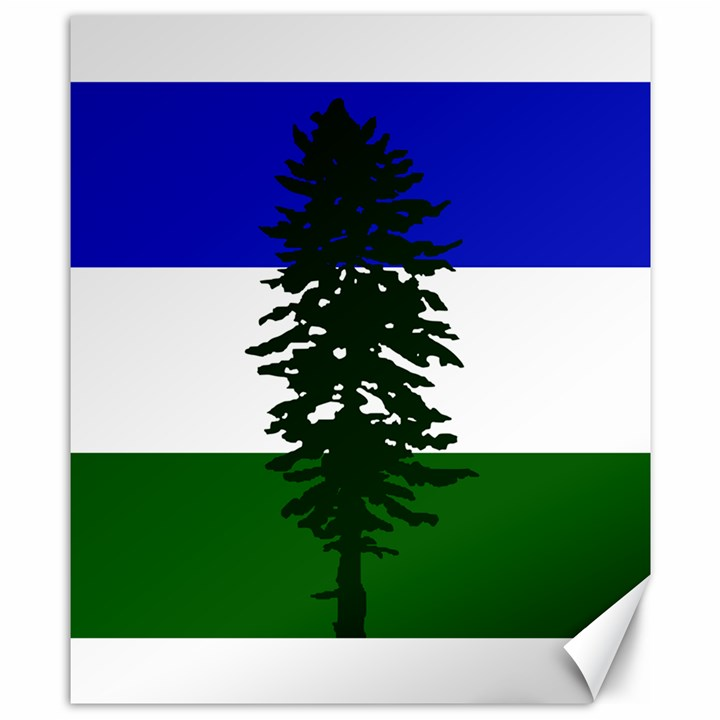 Flag of Cascadia Canvas 8  x 10