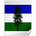 Flag of Cascadia Canvas 12  x 16   16 x12 Canvas - 1