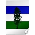 Flag of Cascadia Canvas 20  x 30   30 x20 Canvas - 1