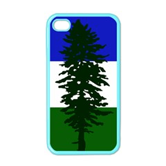 Flag Of Cascadia Apple Iphone 4 Case (color)