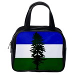 Flag of Cascadia Classic Handbags (One Side) Front