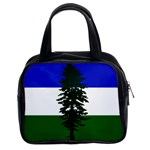 Flag of Cascadia Classic Handbags (2 Sides) Front