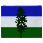 Flag of Cascadia Cosmetic Bag (XXXL)  Front