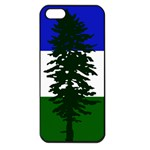 Flag of Cascadia Apple iPhone 5 Seamless Case (Black) Front