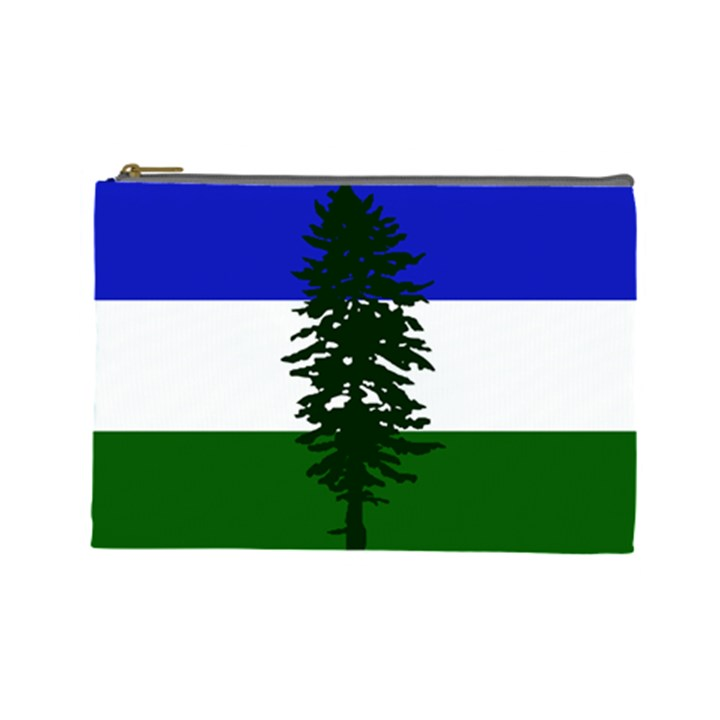 Flag of Cascadia Cosmetic Bag (Large)