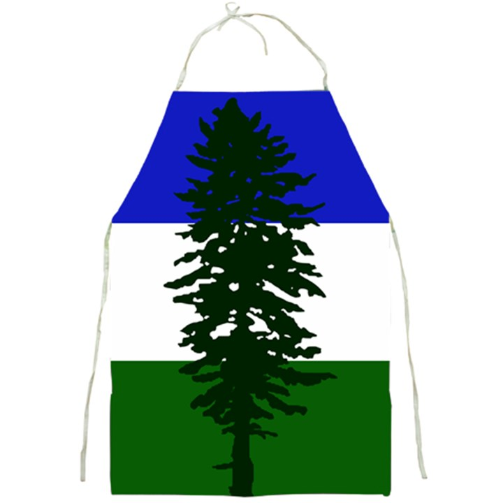 Flag of Cascadia Full Print Aprons