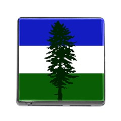 Flag Of Cascadia Memory Card Reader (square)