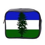 Flag of Cascadia Mini Toiletries Bag 2-Side Front