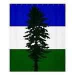 Flag of Cascadia Shower Curtain 60  x 72  (Medium)  54.25 x65.71 Curtain
