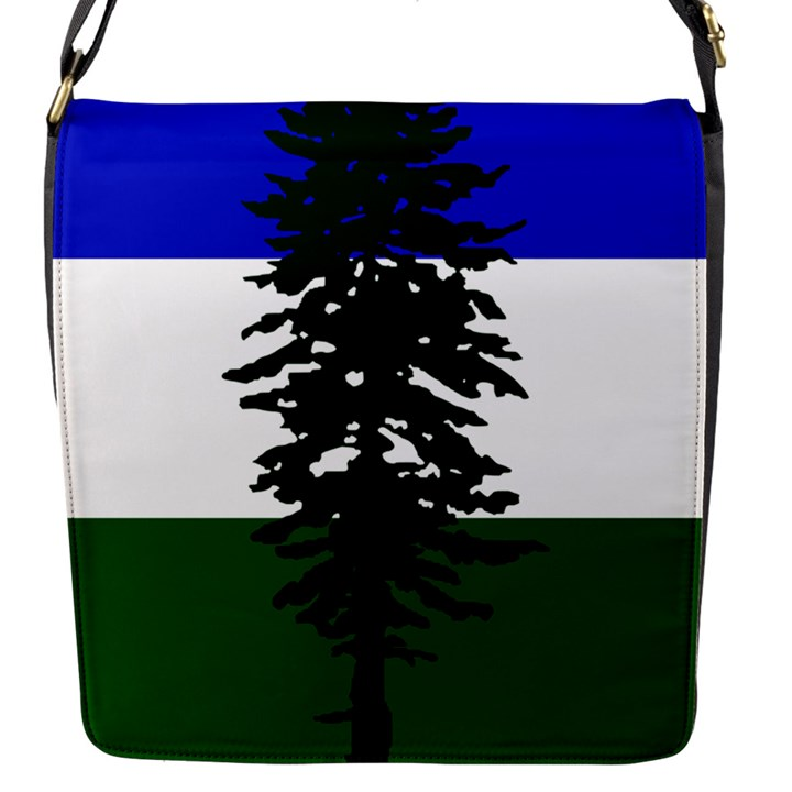 Flag of Cascadia Flap Messenger Bag (S)