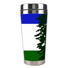 Flag Of Cascadia Stainless Steel Travel Tumblers