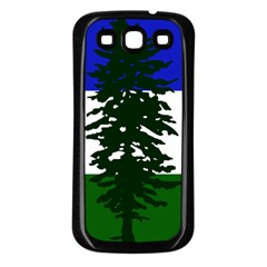 Flag Of Cascadia Samsung Galaxy S3 Back Case (black)