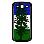 Flag of Cascadia Samsung Galaxy S3 Back Case (Black) Front