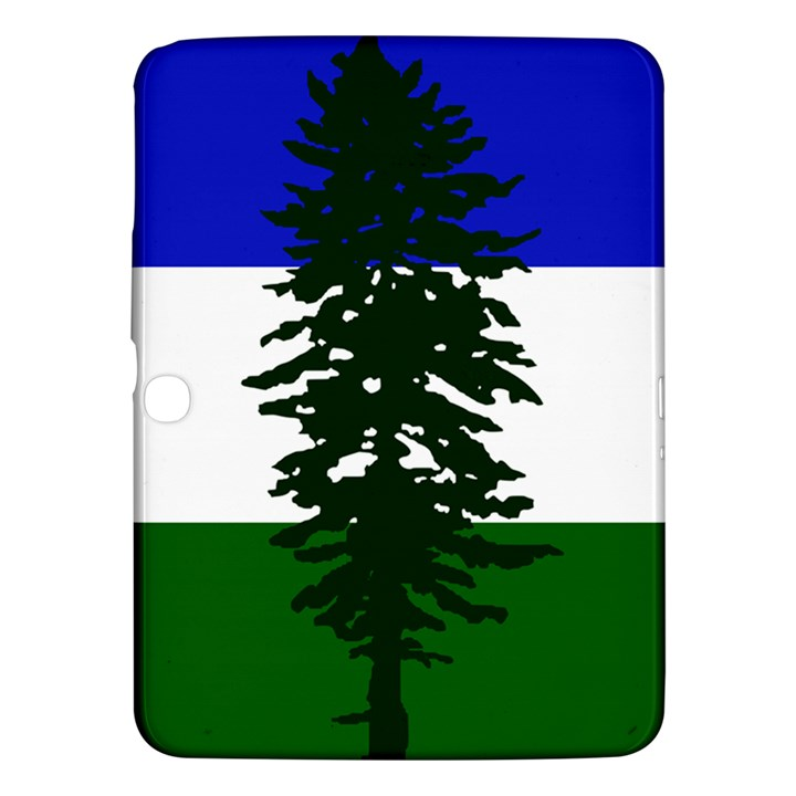 Flag of Cascadia Samsung Galaxy Tab 3 (10.1 ) P5200 Hardshell Case