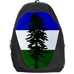 Flag of Cascadia Backpack Bag Front