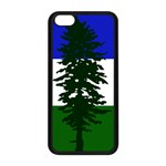 Flag of Cascadia Apple iPhone 5C Seamless Case (Black) Front