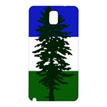 Flag of Cascadia Samsung Galaxy Note 3 N9005 Hardshell Back Case Front