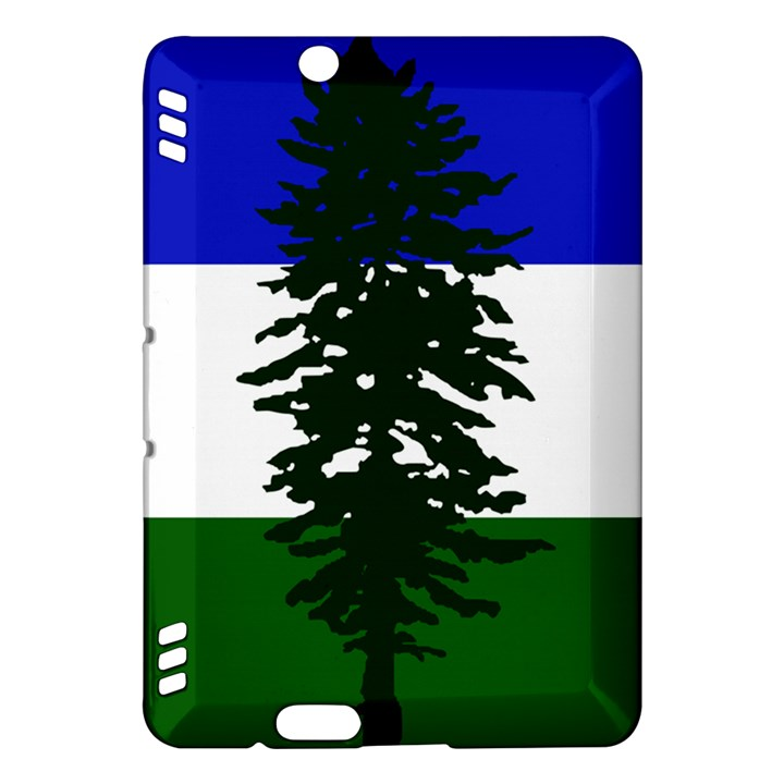 Flag of Cascadia Kindle Fire HDX Hardshell Case