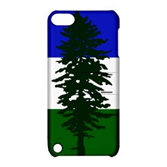 Flag Of Cascadia Apple Ipod Touch 5 Hardshell Case With Stand