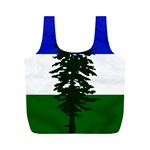 Flag of Cascadia Full Print Recycle Bags (M)  Back