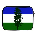 Flag of Cascadia Apple iPad 2/3/4 Zipper Cases Front