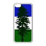 Flag of Cascadia Apple iPhone 5C Seamless Case (White) Front