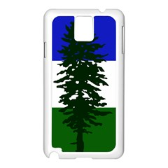 Flag Of Cascadia Samsung Galaxy Note 3 N9005 Case (white)