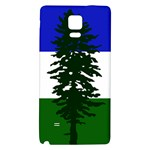 Flag of Cascadia Galaxy Note 4 Back Case Front