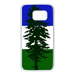 Flag of Cascadia Samsung Galaxy S7 White Seamless Case Front