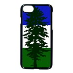 Flag of Cascadia Apple iPhone 8 Seamless Case (Black) Front