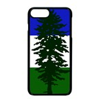 Flag of Cascadia Apple iPhone 8 Plus Seamless Case (Black) Front