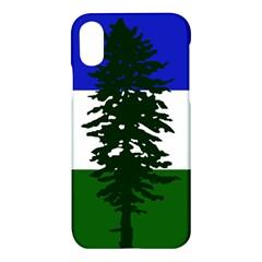Flag Of Cascadia Apple Iphone X Hardshell Case