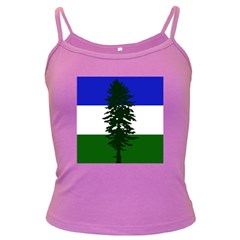 Flag Of Cascadia Dark Spaghetti Tank