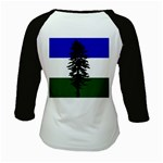 Flag of Cascadia Kids Baseball Jerseys Back