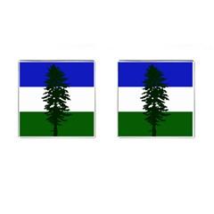 Flag Of Cascadia Cufflinks (square)