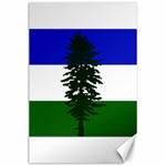 Flag of Cascadia Canvas 24  x 36  36 x24 Canvas - 1