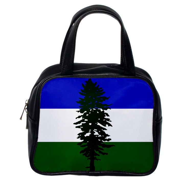 Flag of Cascadia Classic Handbags (One Side)