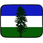 Flag of Cascadia Double Sided Fleece Blanket (Mini)  35 x27 Blanket Front