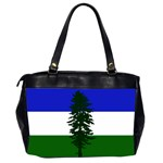 Flag of Cascadia Office Handbags (2 Sides)  Back
