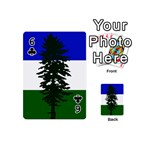 Flag of Cascadia Playing Cards 54 (Mini)  Front - Club6