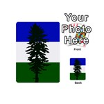 Flag of Cascadia Playing Cards 54 (Mini)  Back