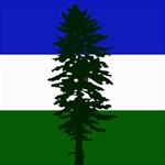 Flag of Cascadia Storage Stool 12   Front